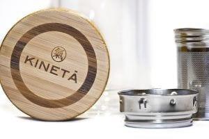 Kineta Cold Brew Matcha Tea Bottle Close Up