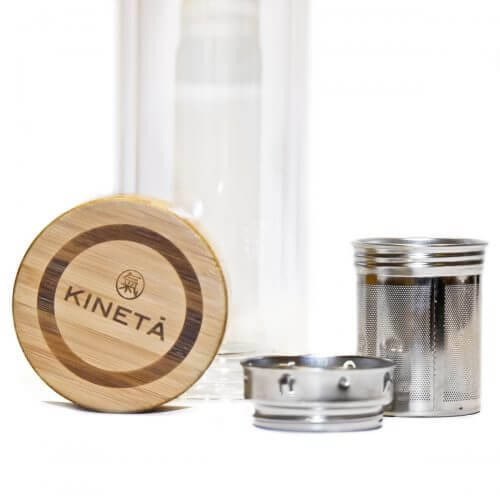 Kineta Cold Brew Matcha Tea Bottle With Infuser