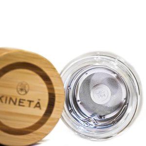 Kineta Cold Brew Matcha Tea Bottle Inside