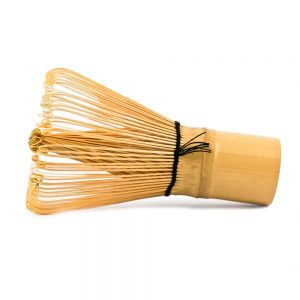 Chasen Matcha Whisk on its side