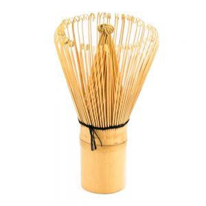 Chasen Bamboo Matcha Whisk Stood On Its Handle