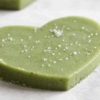 Japanese Matcha Shortbread Biscuits