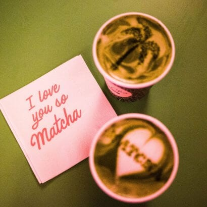 Love You Matcha Tea