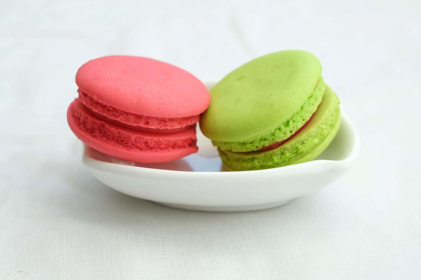 Gluten-Free Matcha Macarons