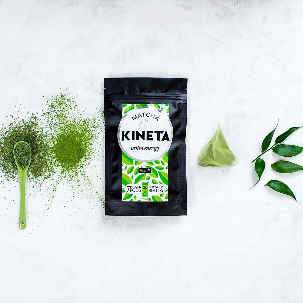 Ceremonial Matcha Tea Infusion Pods 1 Weeks Supply 7 Pods