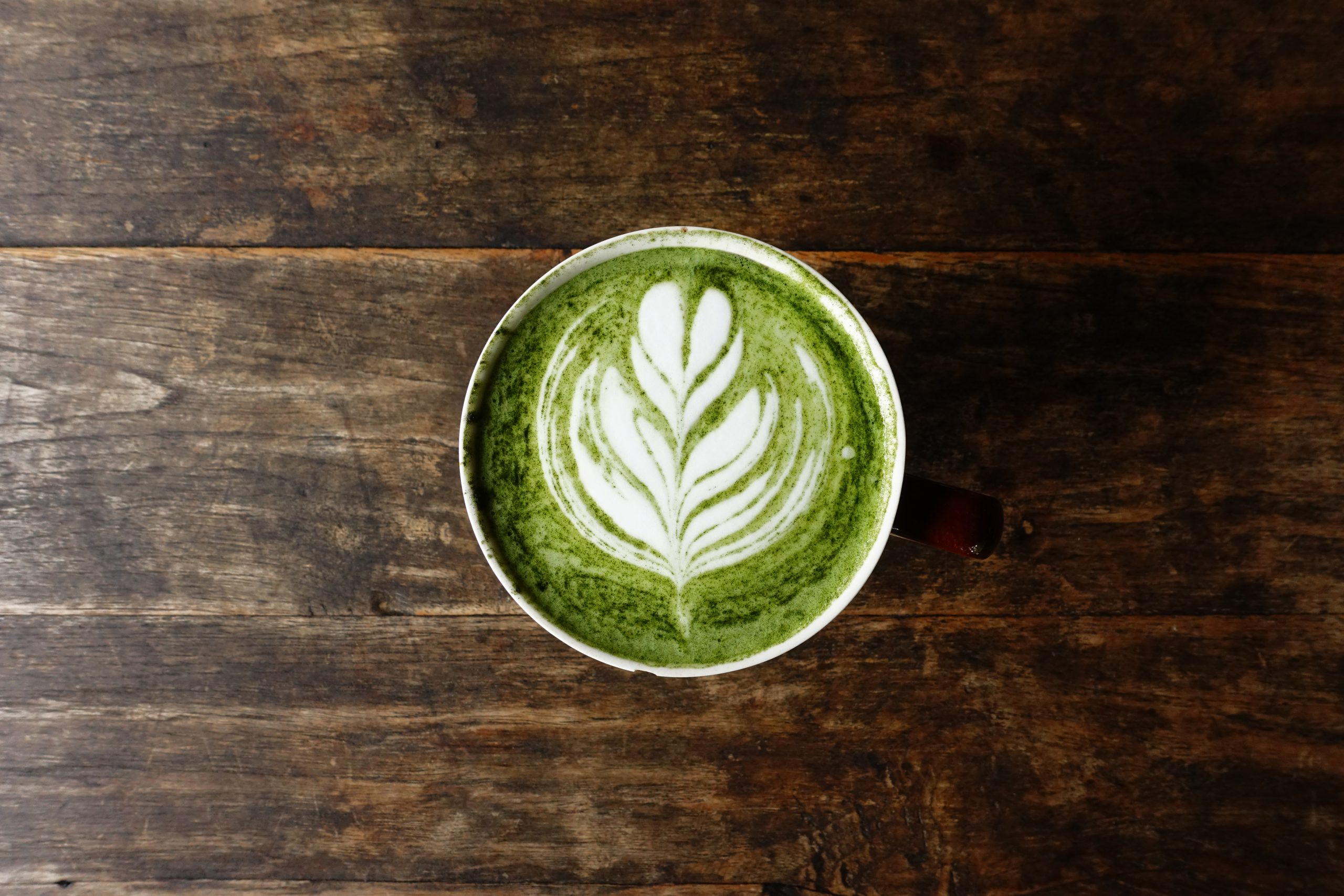 Matcha Green Tea Latte photo