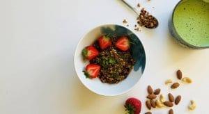 Organic Matcha Tea Granola Recipe
