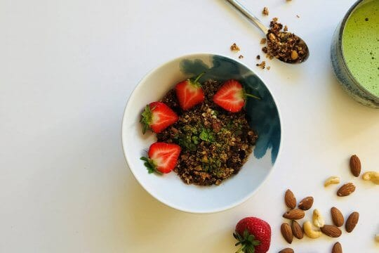 Organic Matcha Tea Granola Recipe