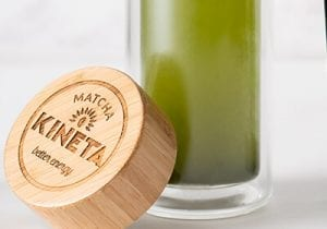 Kineta Cold Brew Matcha Infusion Bottle And Lid