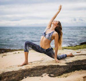 matcha and yoga